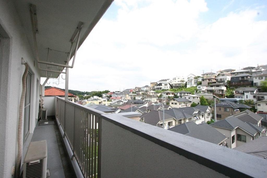 ルックハイツ読売ランドB棟 301バルコニーからの眺望